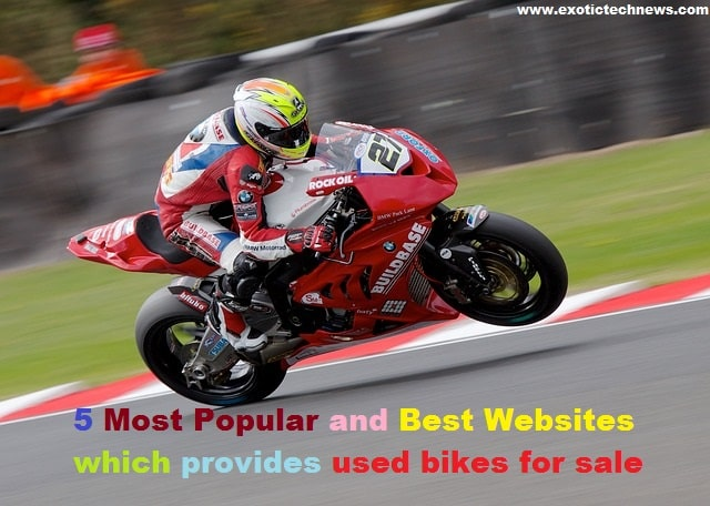 5 Most Popular and Best Websites which provides used bikes for sale