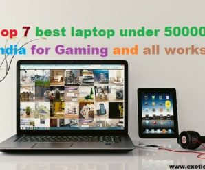 Top 7 best laptop under 50000 in India for Gaming and all works